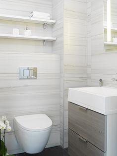 Jyskylän asuntomessut Kohde 42 - Maailmanpylväs A45: värimaailma, paitsi lattialaatta