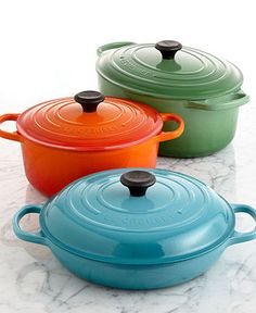 Le Creuset Signature Cast Iron Cookware Collection - Le Creuset - Kitchen - Macy's