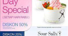 Diskon Sampai 50% Di Lady'S Day Special Sour Sally | Tempatnya Promosi dan Diskon