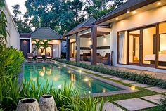 East Nusa Tenggara islands of Indonesia. Pool and Villa - Angel's Villa
