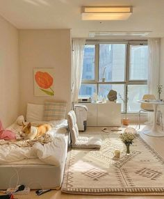 Cute Bedroom Decor, Room Design Bedroom, Small Room Bedroom, Korean Bedroom Ideas, Waiting Room Design, Study Room Decor, Minimalist Room, Cozy Room, Dorms Decor