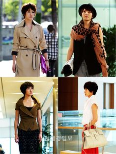 """60 Sets of Clothing Prepared for Kim Sun Ah in """"I Do I Do"""" Every Episode - Drama Haven Kim Sun Ah, Mbc Drama, The A Team, Beauty Tutorials, Fashion Images, Strong Women, Her Hair, Short Hair Styles, Dressing"""