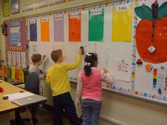 Graffiti wall review -- students write what they know about a subject and their teacher can check their work and look for holes.