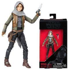 "Jyn Erso Rogue One Star Wars The Black Series 6"" Action Figure NIB Hasbro Disney…"