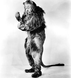 """The Cowardly Lion costume from 'The Wizard of Oz. """"why I oughta""""!"""