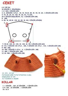 Amigurumi ceket yapımı