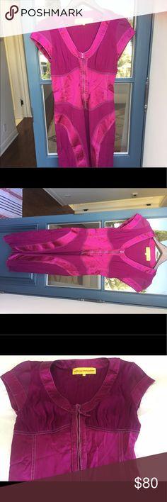 Catherine Malandrino Plum Gauze Dress What a fun dress!  Gauzy and silky all in one. A head-turner!  ;) no trades Catherine Malandrino Dresses Midi