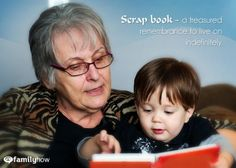 How to create a memory book for your grandchild