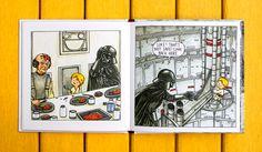 If Darth Vader Actually Raised Luke Skywalker | Brain Pickings
