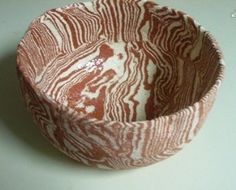 "This bowls says to me, ""I'm going to sculpt a tree!"" Made by Linda Beasley"