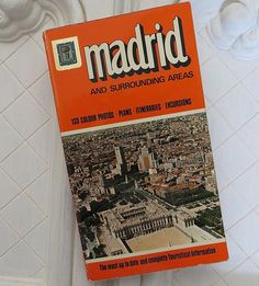 Madrid and Surrounding Areas Maps Plans Excursions 1973 Paperback