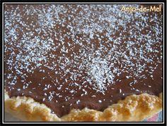 Tarte de Chocolate e Coco