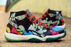 Air Jordan 11 I See Colors Custom