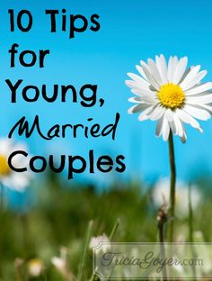 I asked my Facebook friends who have been married for at least twenty years what advice they'd give to a young, married couple, and I loved their answers! I have such wise friends. Read Part Two. Read Part Three.Read Part Four.