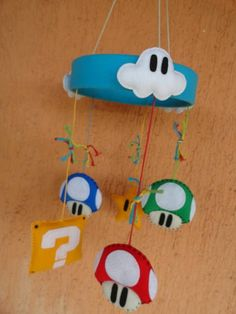 Mario Bros., Super Mario, Baby Sewing, Decoration, Baby Room, Baby Gifts, Kids Room, Craft Projects, Geek Stuff