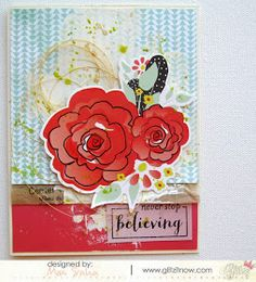 My Life in Collage: Creating with Glitz Design Whatnots