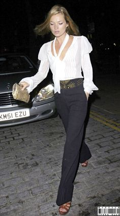 the kate moss. love her style