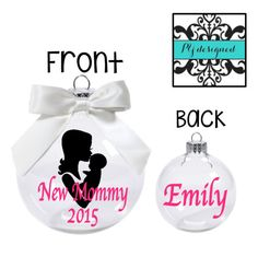 Flower Girl Christmas Ornament Junior Bridesmaid by PYdesigned ...