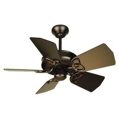 Piccolo Ceiling Fan by Craftmade  $122.00 - $134.00  (small room)