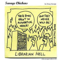 Librarian Hell comic