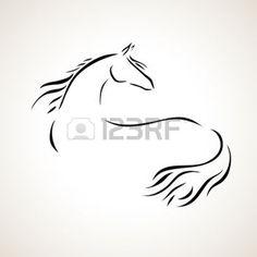 vectores de caballos - Buscar con Google