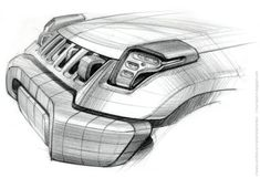 2008 Detroit Motor Show concept car development from initial idea to finished object. Bike Sketch, Car Sketch, Offroader, Volkswagen Models, Industrial Design Sketch, Car Design Sketch, Jeep Renegade, Futuristic Cars, Motorcycle Design