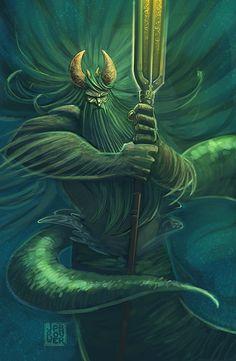 Okeános - Titan of Sea