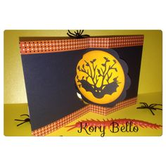 Kory B. Halloween Swing card