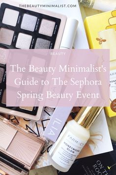 Top US beauty blogger shares the best makeup, skincare and clean beauty products to shop during the Sephora Spring Bonus Event. Beauty Guide, Best Beauty Tips, Beauty Hacks, Best Makeup Products, Beauty Products, Notice And Note, Best Lip Gloss, Nars Radiant Creamy Concealer, Makeup Is Life