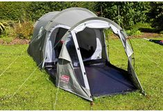 a26c56279bc623 Coleman 2+ Coastline Tent, Green/Grey, 2 Person: Amazon.co.uk: Sports &  Outdoors