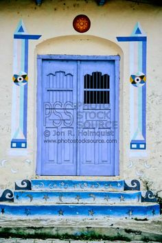 Colorful door ~ Guatemala