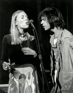 Joni Mitchell & Neil Young