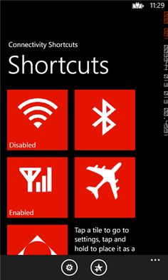 Connectivity Shortcuts #Connectivity #Shortcuts #Mobile #Windows #Apps Top Apps, Go To Settings, Windows Phone, Connection, Education, Onderwijs, Learning