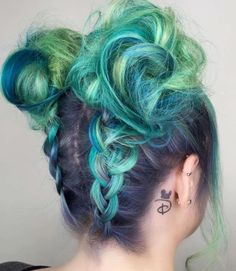 The upside down braid never looked so good By @candicemarie702 by arcticfoxhaircolor You can follow me at @JayneKitsch