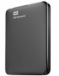 "WD Elements USB 3.0 5Gb/s 1000GB 1000G 1TB 2.5"" Portable External Hard Drives #WesternDigital"