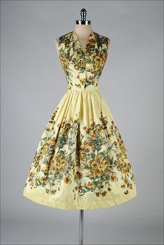 R E S E R V E D /// vintage 1950s dress . MARC-EL MIAMI .