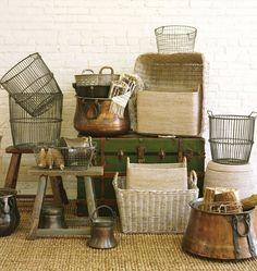 Small Wire Potato Basket | Rejuvenation