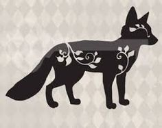 Image result for fox silhouette