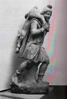 Mithra porteur de veau