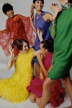 Pierre Cardin 1960s party dresses