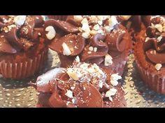 Nutella, Cupcake, Stuffed Mushrooms, Muffin, Vegetables, Breakfast, Youtube, Food, Stuff Mushrooms