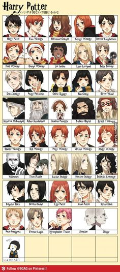harry potter anime   9GAG - Harry Potter Anime