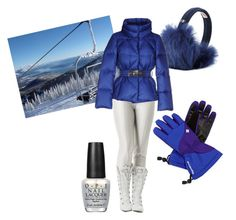 """""""Apres"""" by louise-224 on Polyvore featuring Columbia, UGG Australia, Bogner, FAY, OPI, women's clothing, women, female, woman and misses"""