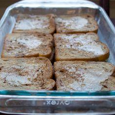 {overnight} French toast casserole