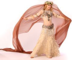 """Swan"" bra & belt by Elsa Leandros, skirt is cutt off a prom dress; photo by Sarah Skinner"