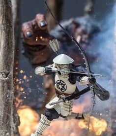 The Amazing Star Wars Action Figure Photography of Sgtbananas Star Wars Clone Wars, Star Wars Art, Star Wars Pictures, Star Wars Images, Figure Photography, Toys Photography, Geeks, Lightsaber Parts, Star Wars Design