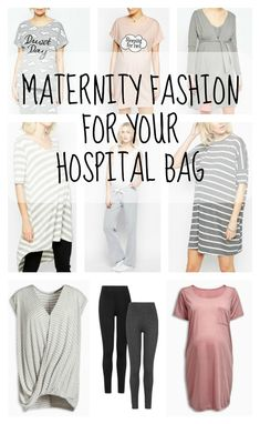 Maternity Fashion For Your Hospital Bag - Lamb & Bear