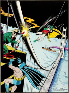 Dick Sprang Batman #76 Cover Recreation Original Art (1984). | LotID #92007 | Heritage Auctions