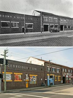 Brown & Kidd building,1948 > 2014 147 New Canterbury Rd, Petersham [Marrickville Council > Google Street View. By Greg Davis]