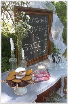 Para bodas con una decoración única, original y personalizada   Bohemian and Chic